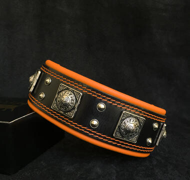 EROS BIG DOGS LEATHER COLLAR