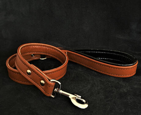 brown clean leash