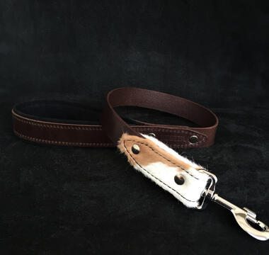 "The ""Buffalo'' dog leash"
