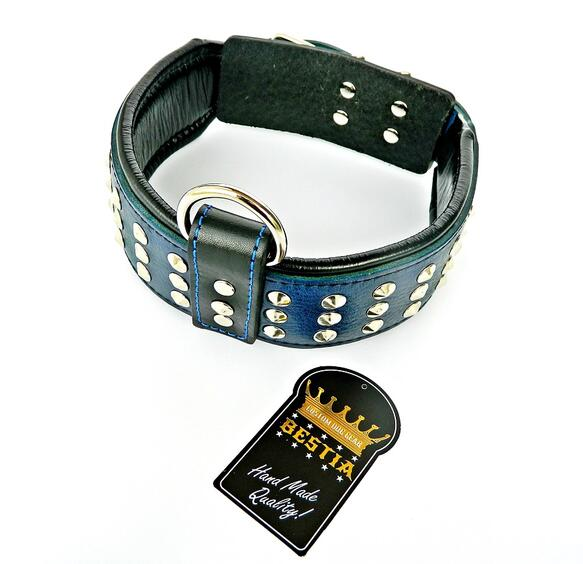 soft padded dog collar from Bestia